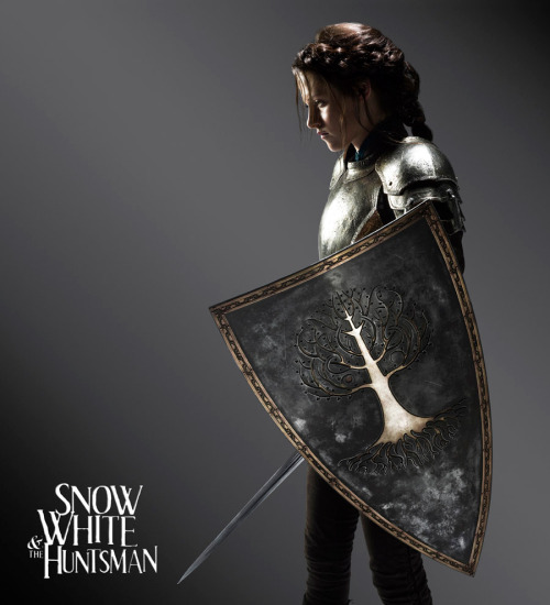 Kristen Stewart in the upcoming Snow White film (Universal Pictures). Lotsa people liked to hate on her for being Bella but she kicked butt in the Runaways.