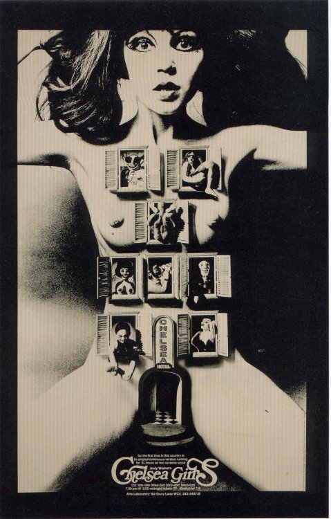 jahsonic:  Chelsea Girls (Alan Aldridge poster)