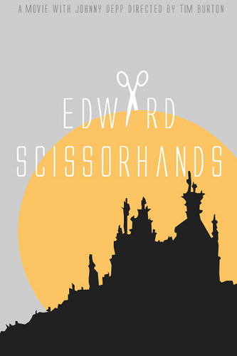 Edward Scissorhands by bellerebelle anonymous' request