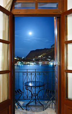 Moonlight serenade by Cretense - Kastellorizo, Greece