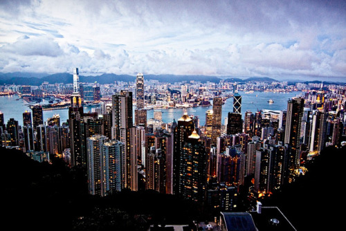 reptile-dysfunction:  Hong Kong by thburningiraffe on Flickr.