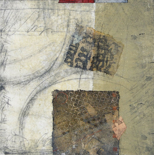 "dailyartjournal:  Ann Moore, ""Traces for Tomorrow"""