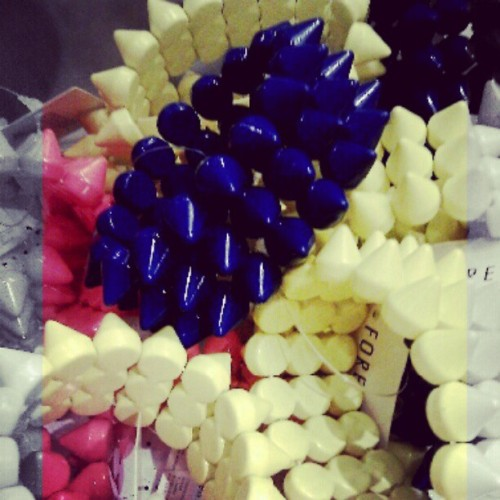 Spikey Bracelets @forever21  (Taken with instagram)