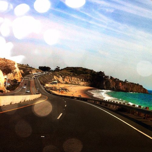 Pacific Coast Highway. Laguna Beach, California. (by blondegypsy)