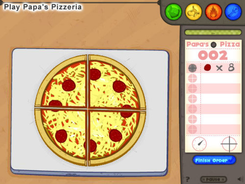 beplayed:  Play Papa's Pizzeria | Free Online Games