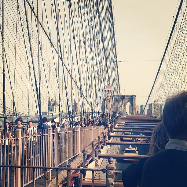 Brooklyn Bridge #bridge #brooklyn #nyc (Taken with Instagram at Brooklyn Bridge)