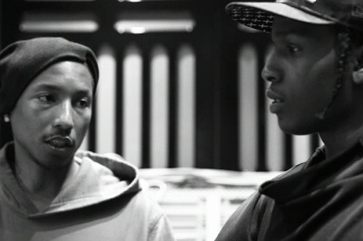 realniggaz:  Asap & Pharrell  Listen to your ol'head…