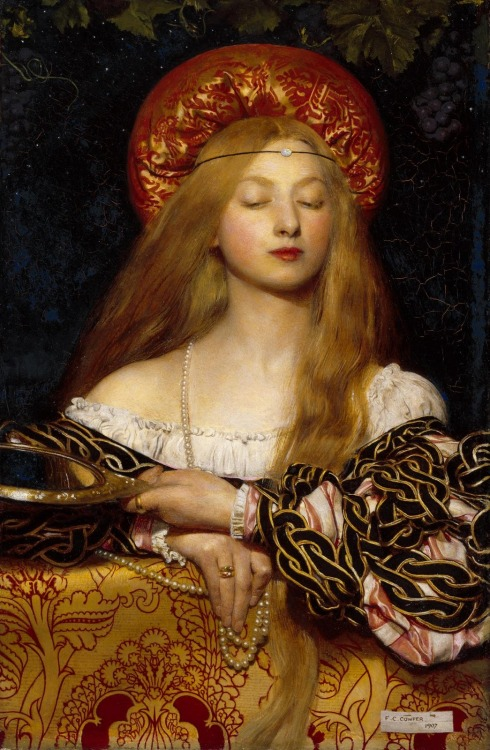 fckyeaharthistory:  Frank Cowper - Vanity, 1907. Oil on canvas