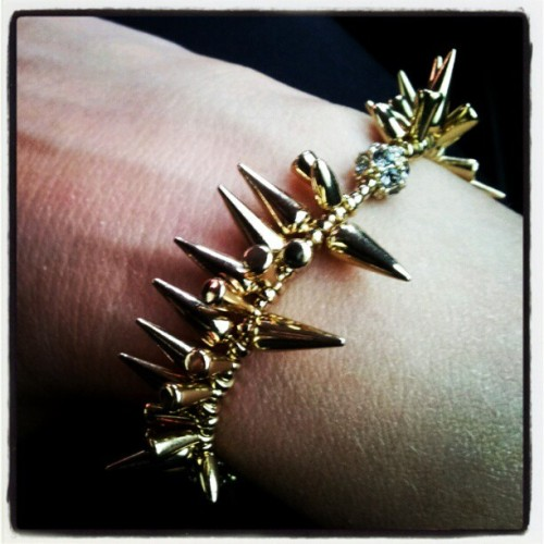 Stella and Dot self protection mechanism bracelet (Taken with instagram)