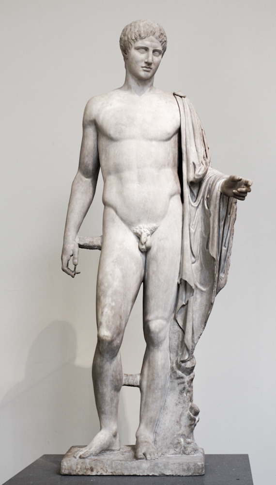 Marble statue of Hermes Roman, Imperial period, 1st or 2nd century A.D.