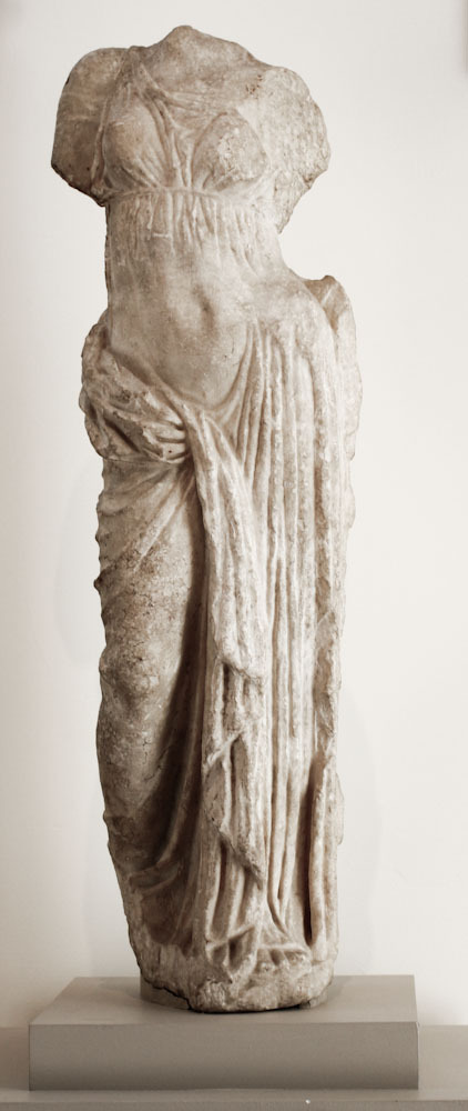 Marble statue of Aphrodite Greek, Hellenistic, 2nd century B.C.