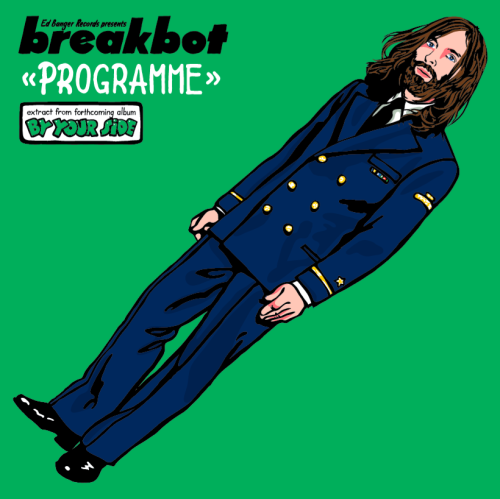 "We are extremely happy to announce the release of ""By your side"" BREAKBOT first album in September 2012!"