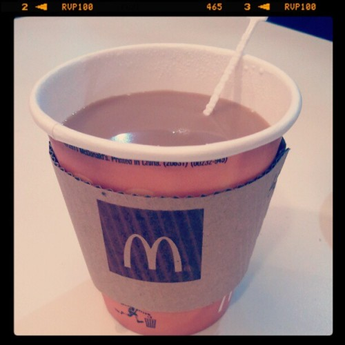 Coffee time with Gempot (Taken with Instagram at Mc Donalds Commonwealth)