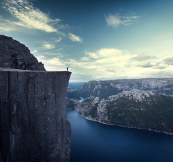 linxspiration:  Pulpit Rock, Norway  如此壯闊