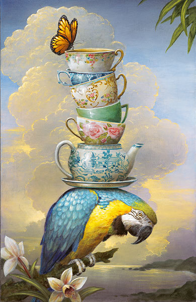 dailyartfixx.com Kevin Sloan - The Burden of Formality (2012)