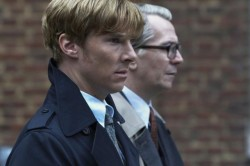 "Benedict as Peter Guillam in ""Tinker, Tailor, Soldier, Spy"". Amazing movie and actors <3"