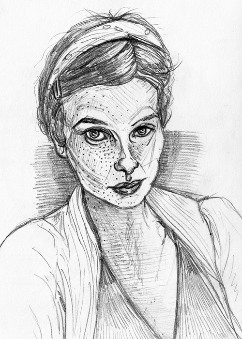 Self portrait—April 2012Graphite