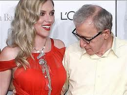 Woody Allen staring at boobs!