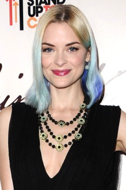 Jamie King blue ombre inspiration, dip dye.