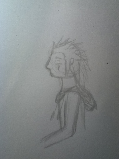 Another Axel!  Ahaha sorry I think this one's cute, and it's mine. It's interesting to like my own work.  Pencil sketch done in what, 10mins? A short while earlier than the colour pic I just posted ^^  I had a picture of Axel open in google and a picture of  Ecks's Axel cosplay from dA to glance at here and there for inspiration and such :D These are in the buildup for a big picture I'm doing as a surprise for someone!
