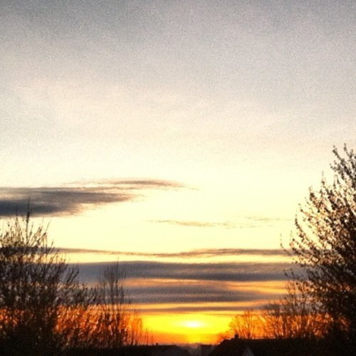 #photoadayapril 15. sunset (Taken with instagram)