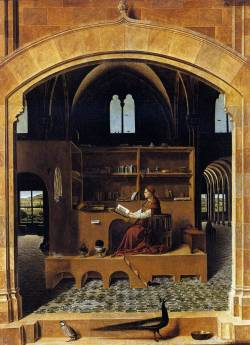 Antonello Da Messina - St Jerome in his Study, 1460