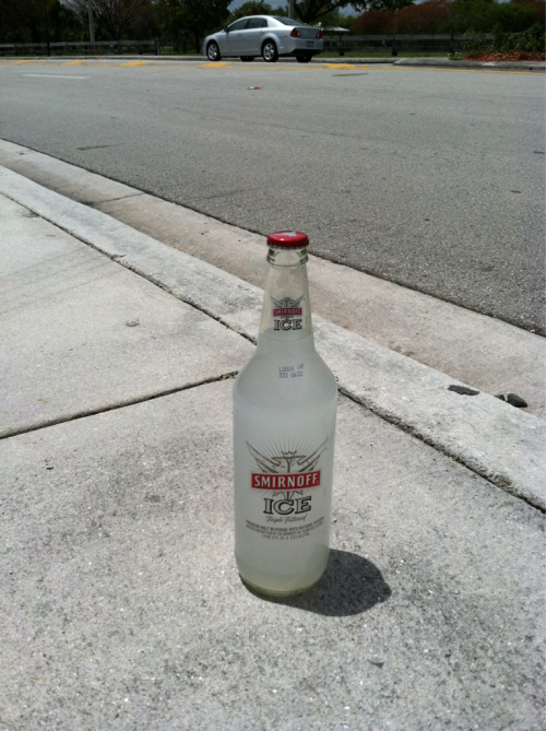 hideway:  This is just kind of sitting on the sidewalk it's unopened and full  WE GOT HIM BROSEPHS EPIC ICING