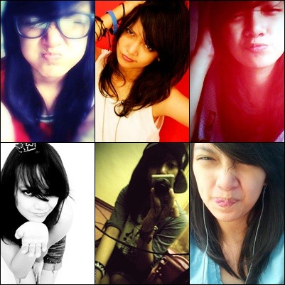 The different sides of me :))  im kinda wacky, classy, swag, geek, or anything i want, but, i'm still be me no matter what. :)) sorry for my effin faces xD i just want to show it, just so you know what do i look like. :)) hehehhe.