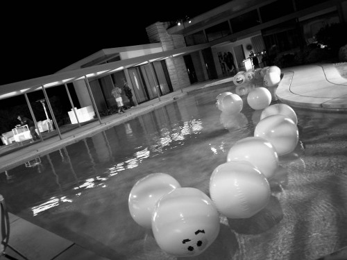 I was at Frank Sinatra's house last night in Palm Springs for Jeremy Scott's bash. Photo by Brad Elterman