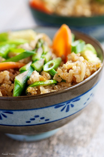 Fried Rice with Spring Vegetables (by harald walker) Recipe