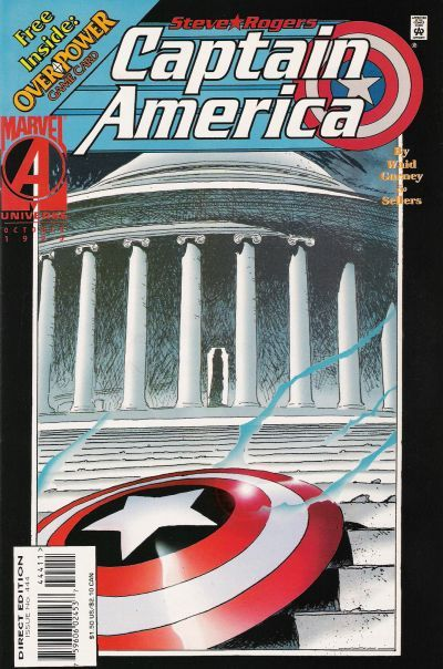Captain America #444, October 1995, written by Mark Waid, penciled by Ron Garney