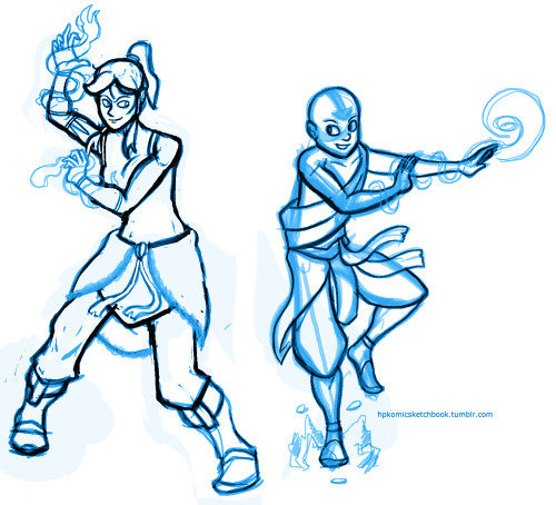 Doing my first Avatar fanart ever. Inking this is going to suck.