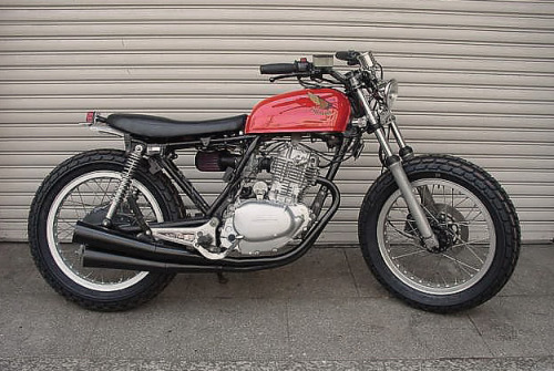 We're on the look out for a Honda CB250 RS to customise. If you've got one down the side of the house slowly dying, drop us a line so we can turn it into something like these four bikes.