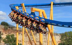 fun ride amusement park Theme Park roller coaster rollercoaster coaster inverted inverted coaster inverted roller coaster