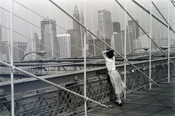 Edouard Boubat, Brooklyn Bridge, New York, 1982