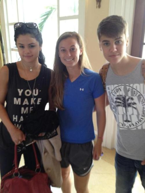 Justin Bieber & Selena Gomez are staying at my development in FL this wknd and I've seen the devil in the eyes of every teen since I arrived -�@BSchwitt