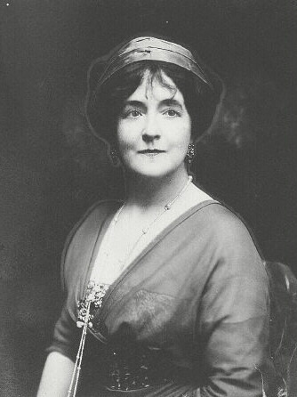 Lucy Christina, Lady Duff-Gordon, more commonly known by her professional name Lucile, was a milliner, couture dressmaker, fashion trend-setter and all around very interesting woman. She also happened to be a passenger on the RMS Titanic when it sank 100 years ago today. So today I am focusing on Lucile.
