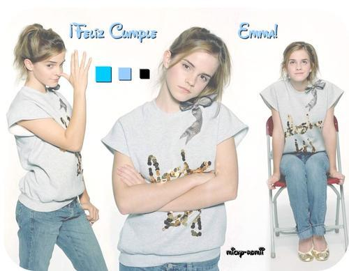 Happy B-day Emma Watson! (I found this old fotolog's picture haha)