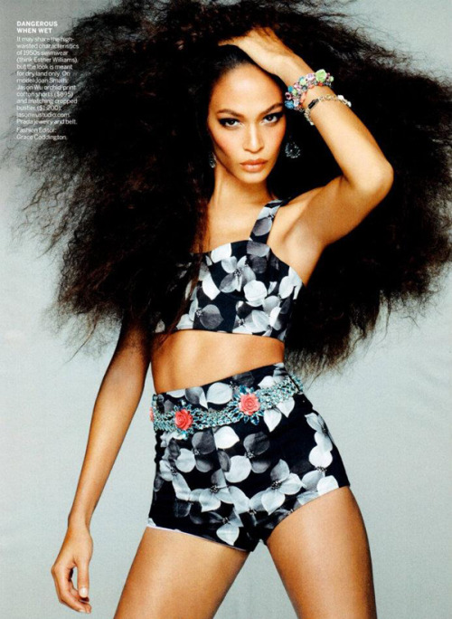 blackstuddedfashion:  Joan Smalls for Vogue US May 2012