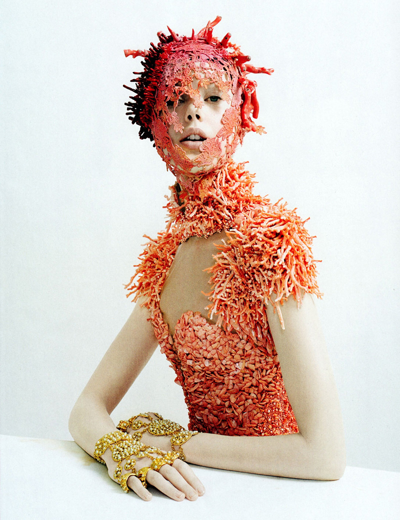 "adjectival: ""Jewel in the Crown"": Frida Gustavsson by Tim Walker for Vogue May 2012"