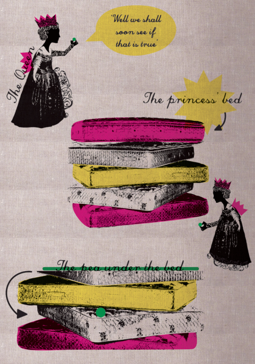 The Princess and the Pea - When the Queen put a pea under the princess' bed…