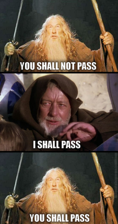 Star Wars > Lord of The Rings