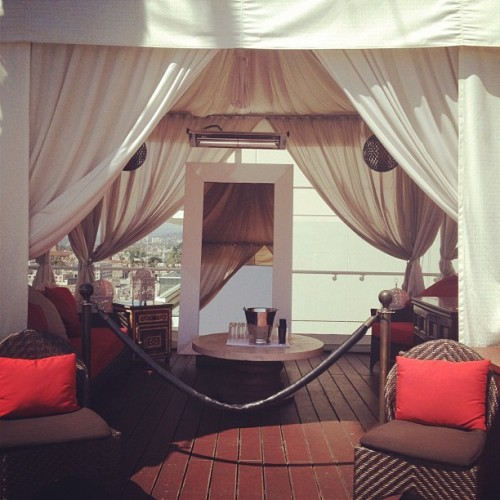 This cabana is all mine for the day. #bye (Taken with instagram)