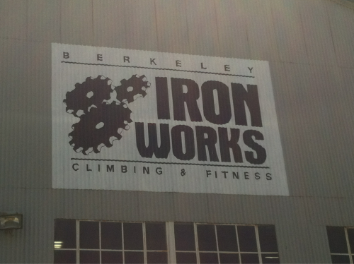 Woah. Berkeley Iron Works was the first gym I ever rock climbed at! I arrived in California a day early (I was there for a medical program), and my cousin showed me around. He took me to Iron Works the next morning, and ever since, I always jump whenever I get the chance to go rock climbing, especially if my good friends are back in town. I'm planning on going rock climbing this afternoon with my brother.