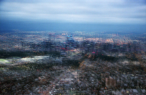slatercombes:  Cityscape: the gloaming thescatteredimage