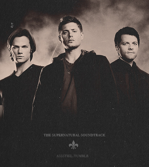 assstiel:  {Part One} 01. Wanted Dead or Alive - Bon Jovi02. Back in Black - AC/DC03. Chery Pie - Warrant04. Carry on My Wayward Son - Kansas05. White Rabbit - Jefferson Airplane06. Walk Away - James Gang07. Rocky Montain Way - Joe Walsh08. Don't Look Back - Boston09. Ranblin'Man - Allman Brothers Band10. House of the Rising Sun - The Animals11. Paranoid - Black Sabbath12. Crazy Circles - Bad Company13. Green Onions - Booker T. & the MG's14. Suger We're Going Down - Fall Out Boy15. Dream a Little Dream of Me - Mamas and the Papas16. Back in time - Huey Lewis and the News17. Hocus Pocus - Focus18. Fly By Night - Rush19. Foreplay, Long Time - Boston20. I've Got The World On a String - Frank Sinatra {Part Two} 21. Speaking in Tongues - Eagles of Death Metal22. Thunderstuck - AC/DC23. Renegade - Styx24. All Right Now - Fee25. Renegade - Styx26. All Right Now - Free 27. Stranglehold - Ted Nugent28. Cold As Ice - Foreigner29. Bad Moon Rising - Creedence Clearwater Revival30. Bad Time - Grand Funk Railroad31. We're An American Band - Grand Funk Railroad32. In a Gadda Da Vida - Iron Butterfly33. You Ain't Seen Nothing Yet - Bachman Turner Overdrive34. Cant Fight this Feeling - REO Speedwagon35. Back On The Road Again - REO Speedwagon36. The Crystal Ship - The Doors37. Too Daze Gone - Billy Squier38. Key to the Highway - Eric Clapton & B.B. King39. Heat of The Moment - Asia {Part Three} 40. What a Wonderful World - Joey Ramone41. Surrender - Cheap Trick42. Lodi - Creedence Clearwater43. Rock Of Ages - Def Leppard44. Wheel In The Sky - Journey45. Supermassive Black Hole - Muse46. Hair of the Dog - Nazareth47. Down on Love - Jamie Dunlap48. Hot Blooded - Foreigner 49. Green Peppers - Herb Alpert & The Tijuana Brass50. Look at You - Screaming Trees51. Saturday Night Special - Lynyrd Skynyrd 52. Downhearted Blues - Son House53. Fell on Black Days - Soundgarden54. Down on the Street - The Stooges55. Hey You - Bachman Turner Overdrive56. Fire of Unknown Origin - Blue Oyster Cult57. Bad Seed - Brimstone Howl58. Do That To Me One More Time - Captain & Tennile59. Lady in Red - Chris De Burgh60. Peace of Mind - Boston {Part Four}61. Can't Find My Way Home - Blind Faith62. Every Rose has its Thorn - Poison63. Crossroad Blues - Rory Block64. Bang Your Head - Quiet Riot65. Knockin on Heavens Door - Bob Dylan66. Don't Fear the Reaper - Blue Oyster Cult67. Highway to Hell - AC/DC68. Shambala - Three Dog Night69. No one like you - Scorpions70. 40,000 Miles - Goodnight City71. Burning for You - Blue Oyster Cult72. Time has Come Today - The Chambers Brothers73. Dead or Alive - Sam and Dean (this is the audio of them singing)74. O Death - Remix for the CW (That fucking awesome death song)75. Slow Ride - Foghat76. God's Gonna Cut you Down - Johnny Cash77. Gimme Back My Bullets - Lynyrd Skynyrd78. Love the Way you Lie - Skylar Grey (this one never played on supernatural but I think it has everything to do with the show haha)79. Eye of The Tiger - Survivor  Download LinksMediaFire Parts 1, 2, 3 and 4 Depositfiles Parts 1 and 2   By assstiel.tumblr
