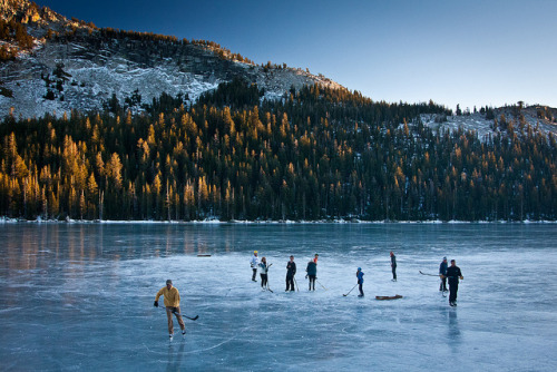 Frozen Tenaya Lake II by Jeff Pang on Flickr.