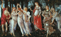 Primavera,Sandro Botticelli In honor of the lovely (though pollen filled) weather we have been having.