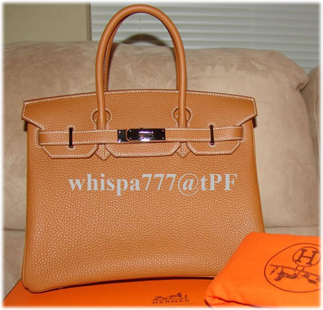 Obsessed with Birkins! I would like one in this colour (gold with palladium hardware) This is a 30 cm in togo leather.
