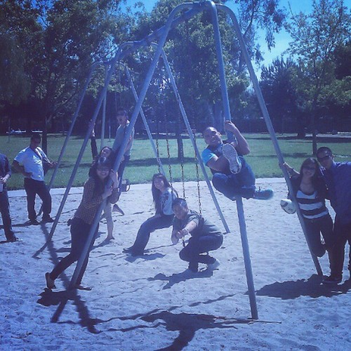 Park w JYA (Taken with instagram)